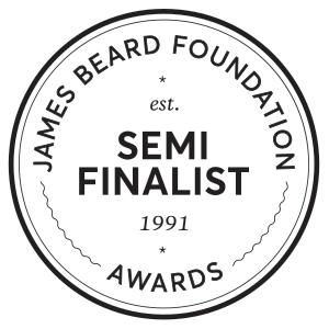 James Beard Foundation Semifinalist